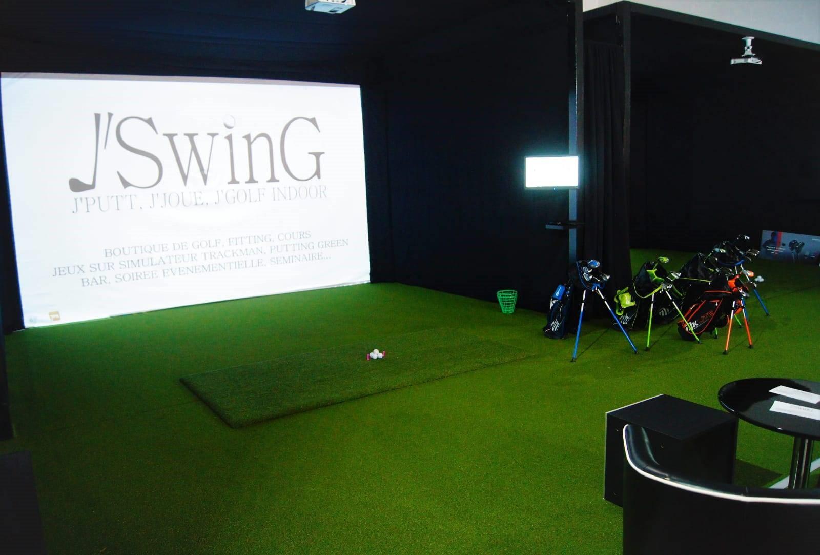 simulateur golf pour la maison